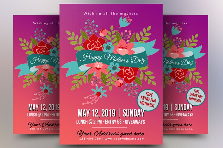 Mothers Day Lucnh Flyer