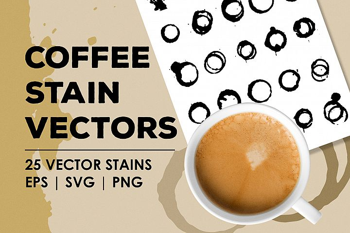 Coffee Stain Vectors