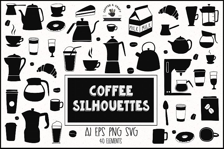 Coffee Silhouettes