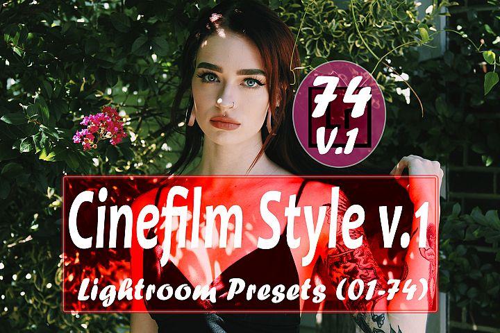 Cinefilm Style v.1 Lightroom Presets