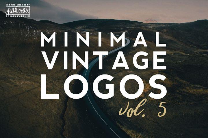 Vol. 5 | 20 Minimal Vintage Logos