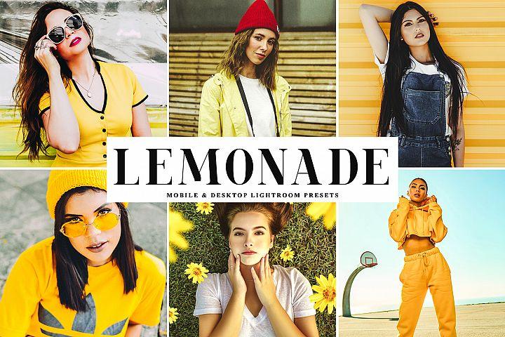 Lemonade Mobile & Desktop Lightroom Presets