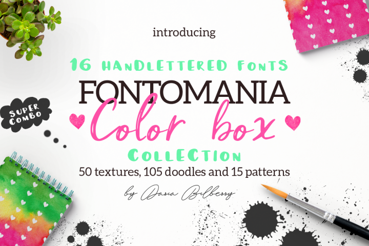 FONTOMANIA COLOR BOX