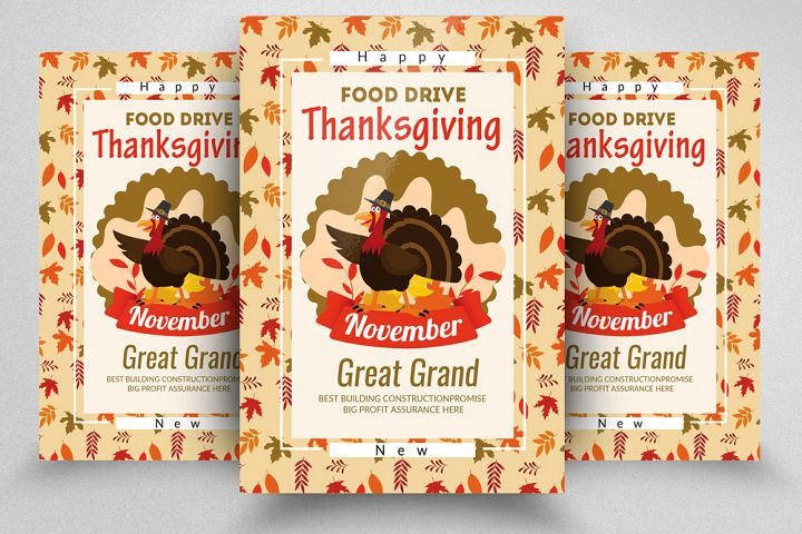Thanks Giving Flyer/Poster Template