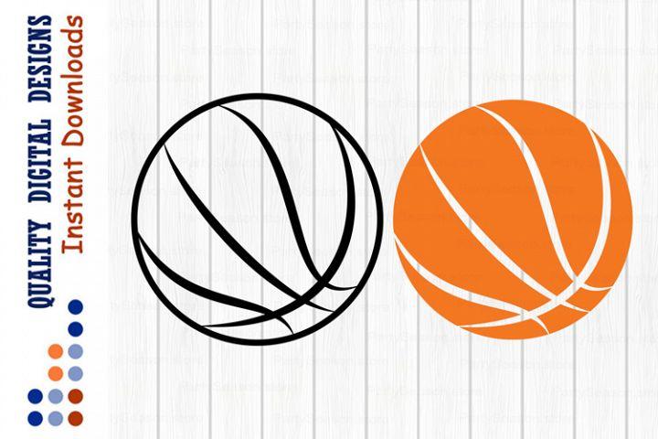 Basketball ball svg Sports Ball clipart svg