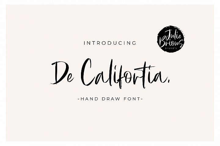 De Califortia Script