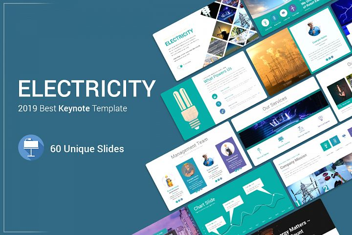 Electricity Keynote Template