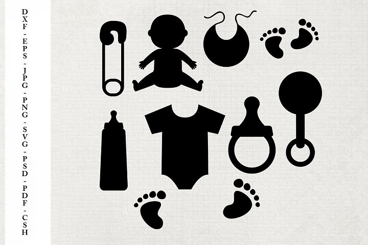 Baby Shapes - Templates