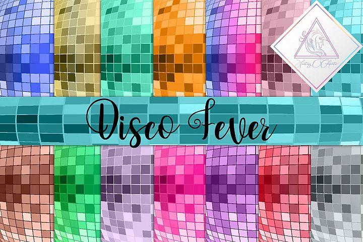 Disco Fever Digital Paper