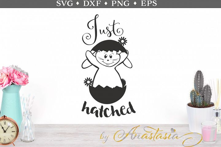 Just Hatched SVG Cut Files
