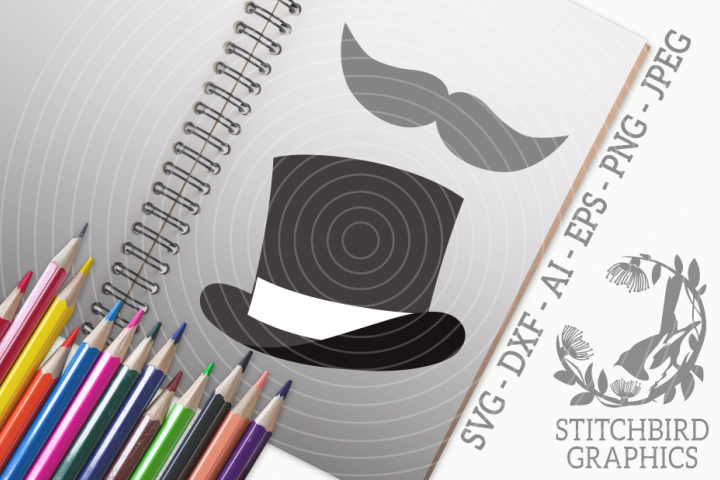 Gentleman Bundle SVG, Silhouette Studio, Cricut, Eps, JPEG