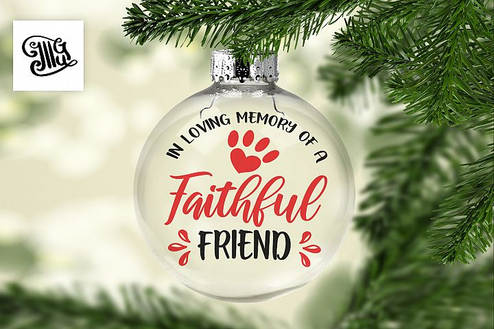 In loving memory of a faithful friend - Dog memorial