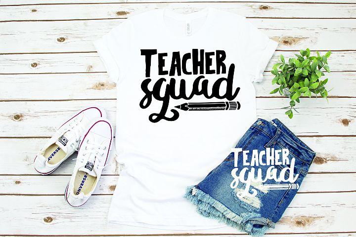 Teacher svg, Teacher squad svg, 92