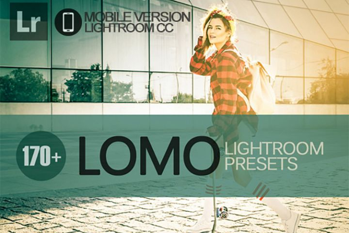 170 Lomo Lightroom Mobile bundle Presets