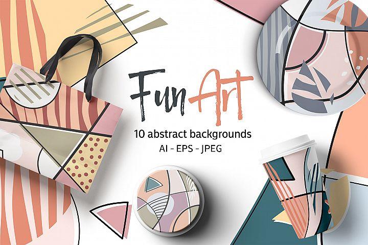 Fun Art Backgrounds