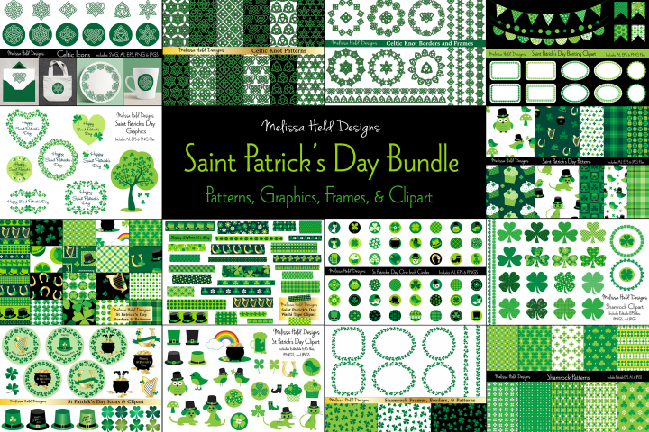 Saint Patricks Day Graphics Bundle