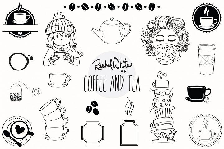 Coffee & Tea - Free Design of The Week Design1