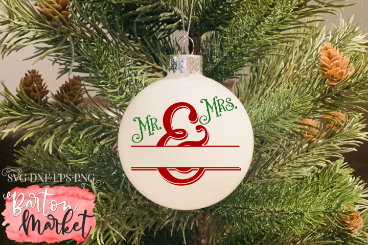 Mr & Mrs Monogram SVG DXF EPS PNG