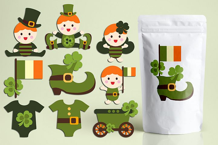 Lucky Irish Baby - St. Pactricks Day