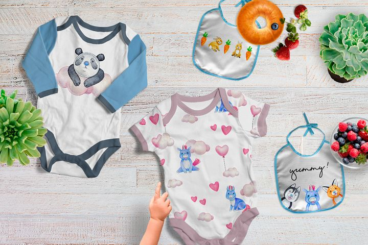 CUTE ANIMALS collection BABY SHOWER example 6