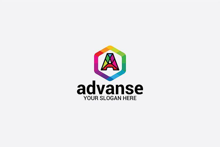 Advanse A Letter Logo