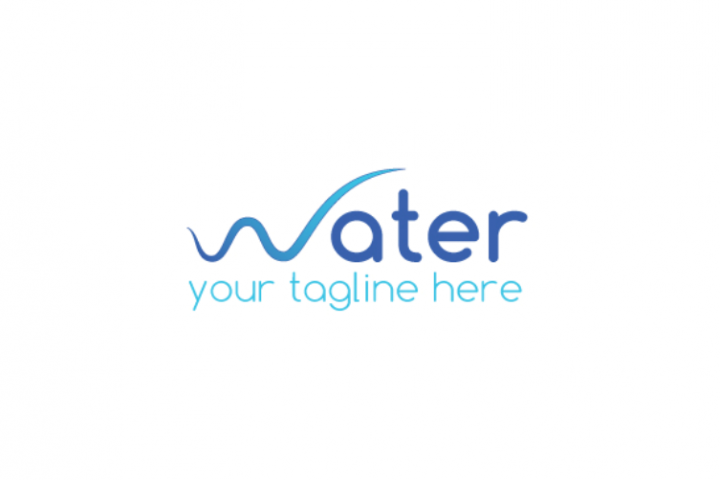Water logo template