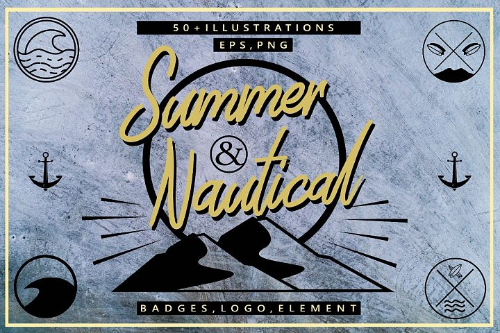Summer & Nautical Element Pack