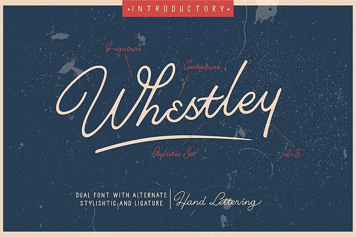 Whestley Handlettering