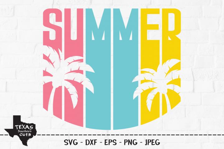 Summer SVG, Cut File, Summer Vacation Shirt Design