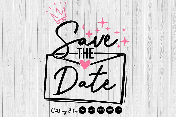 Save the date| wedding svg | svg cut files