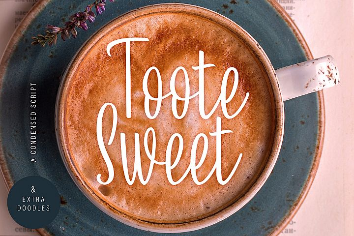 Toote Sweet | A Condensed Script & Extra Doodles