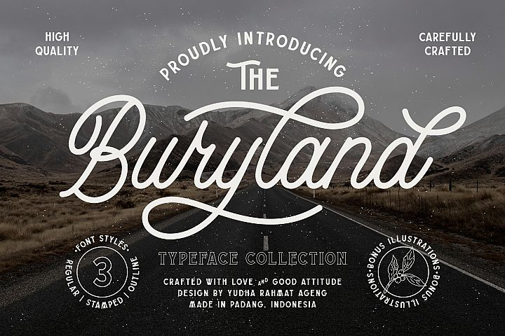 Buryland Typeface Collection