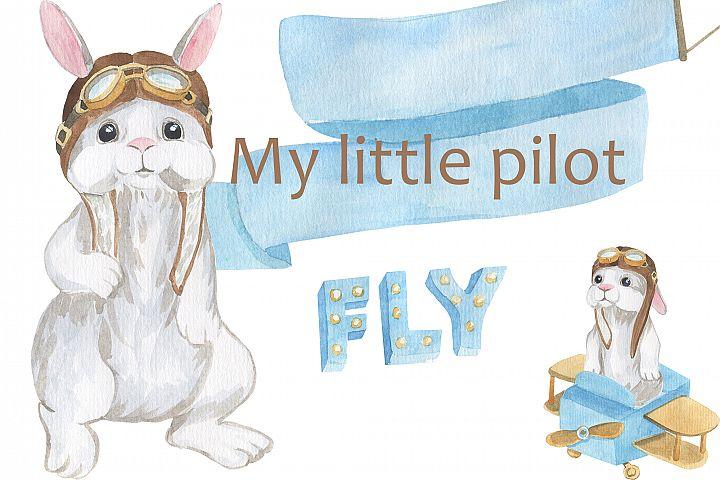 My little pilot - Rabbit little pilot