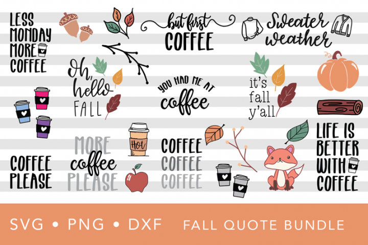 Fall SVG Quote Bundle