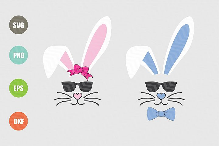 Easter Bunny Svg Boy Girl