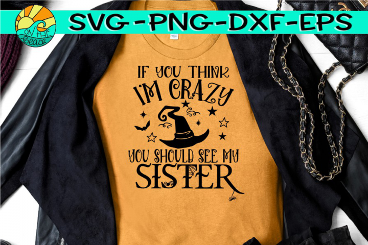 Crazy Witch Sister - SVG PNG EPS DXF