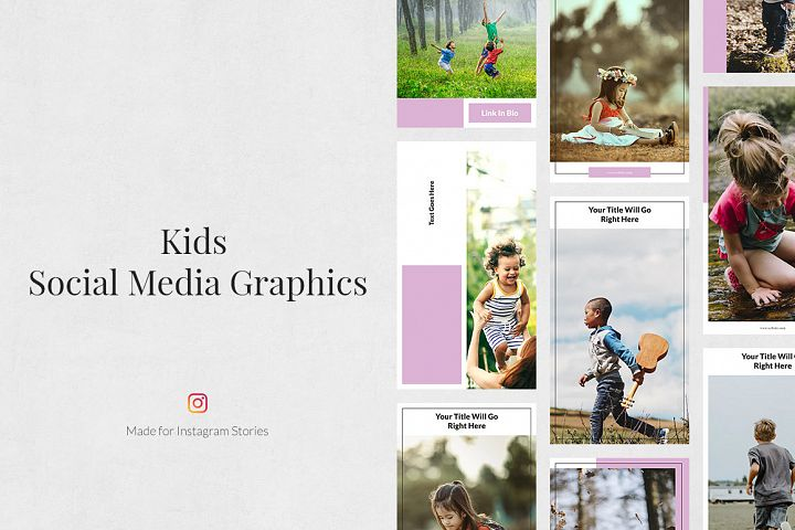 Kids Instagram Stories