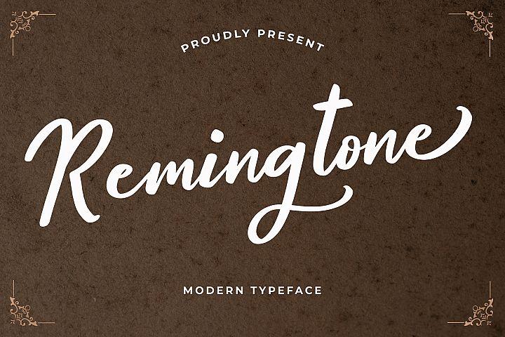 Remingtone Calligraphy Font