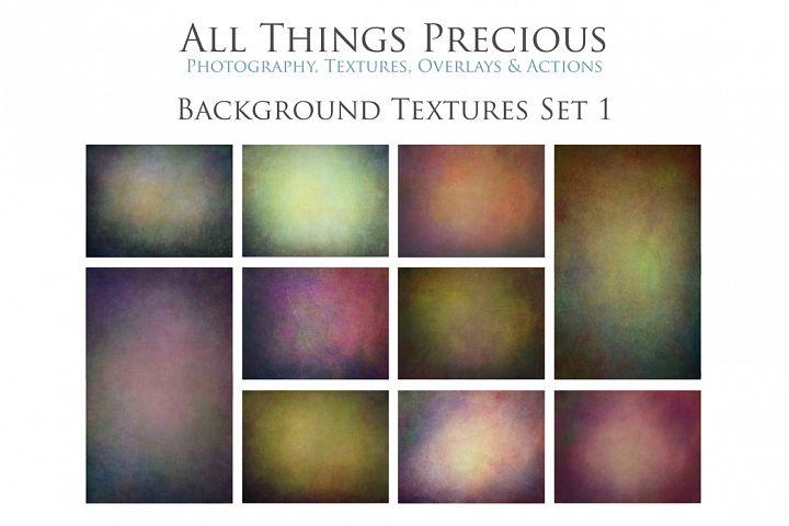 10 Fine Art BACKGROUND Textures SET 1