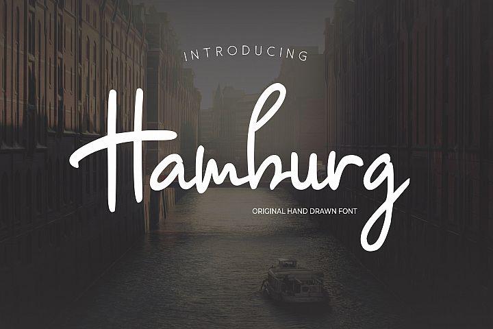 Hambrug - Handwritten Font