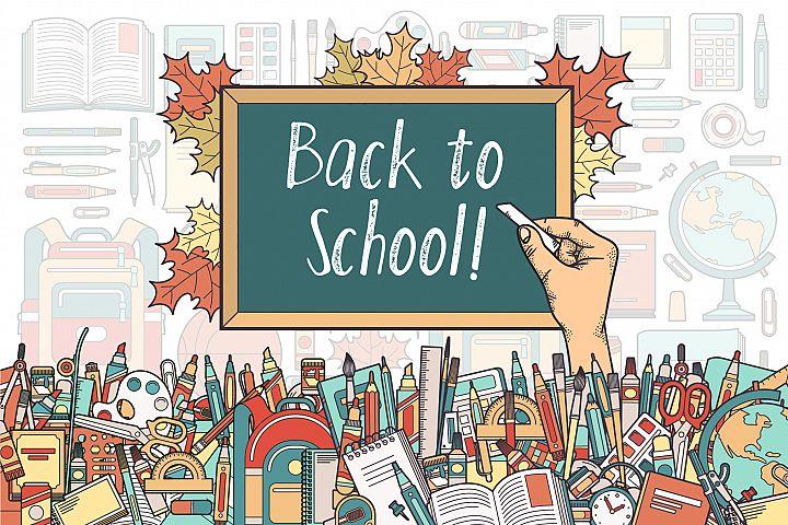 Back To School Supplies Bundle