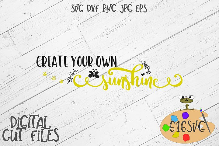 Create Your Own Sunshine SVG