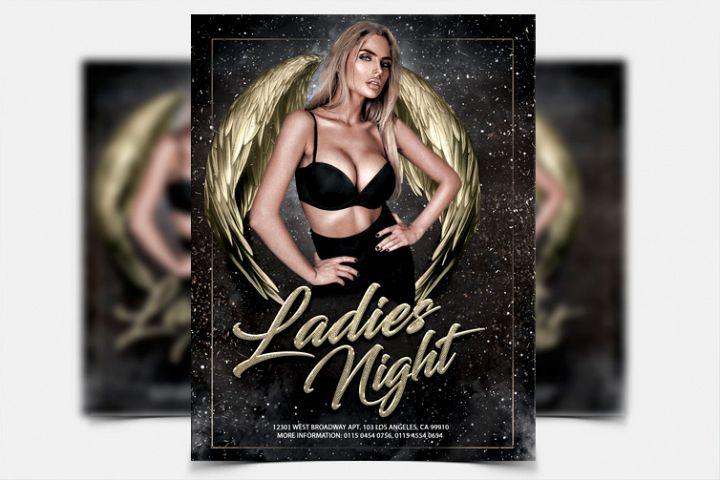 Ladies Night - PSD Flyer Template