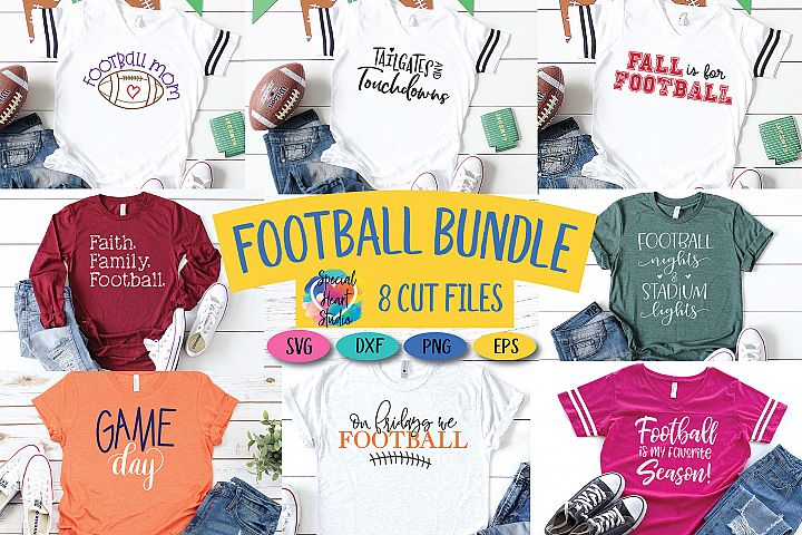 Football Bundle - An football fan SVG Cut File Bundle