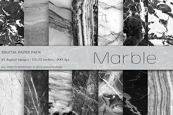 Marble Digital Paper, Marble Background