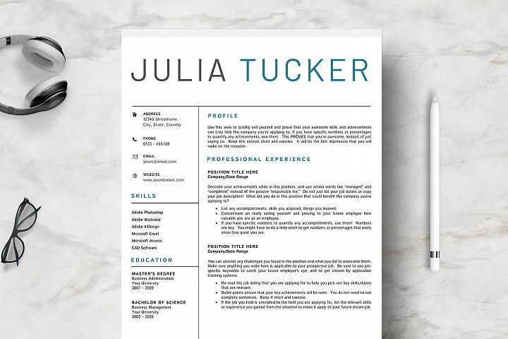 Professional & Creative Resume Template