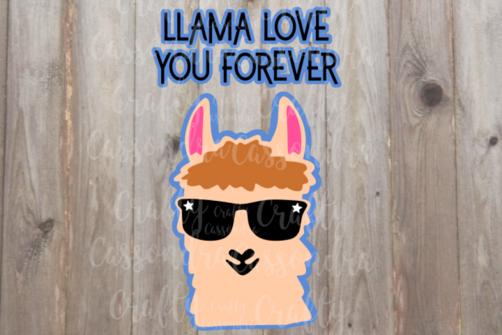 Llama love you forever