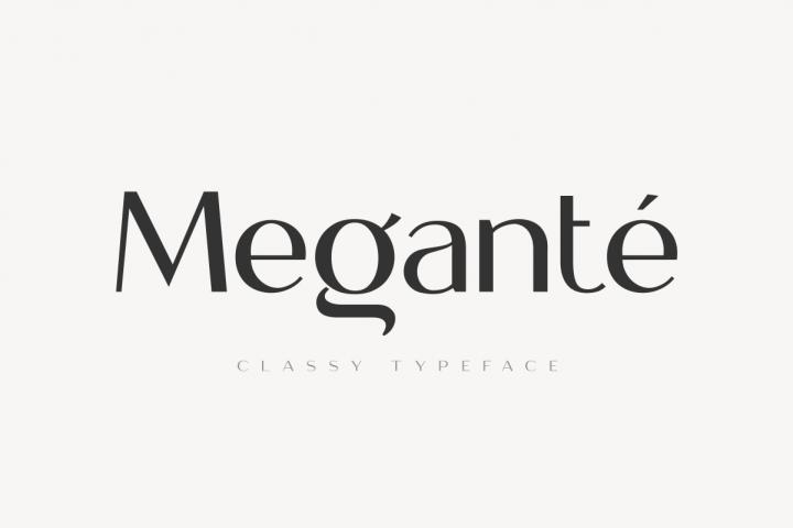 Megante - Classy Font