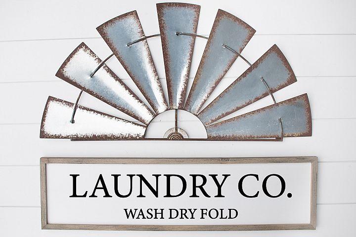 Laundry Co Svg, Farmhouse Sign Svg, Laundry Svg, Cricut Svg