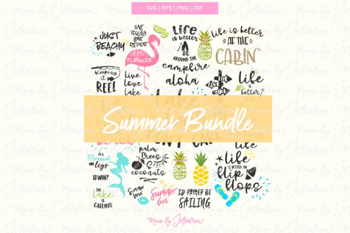 The Ultimate Summer Bundle, summer svg